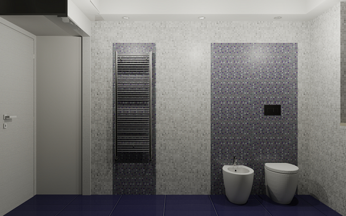 Bagno Moderno In Mosaico ~ duylinh for
