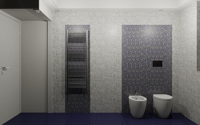 Proposta di un bagno in mosaico for Arredo bagno mosaico